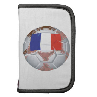 French Soccer Ball Folio Planners