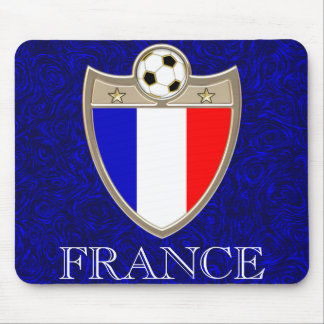 French Soccer Mouse Pads