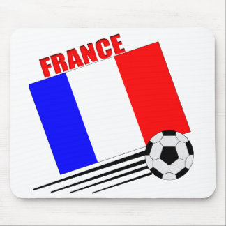 French soccer team mouse pad
