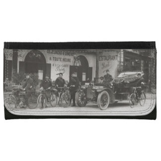 French soldiers, car, motorbike wallet