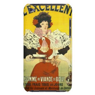 French Soup Advertisement 1895 Case-Mate iPod Touch Case