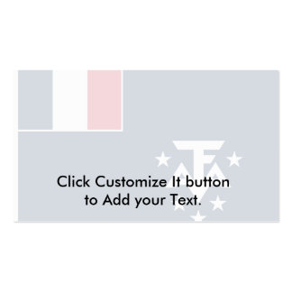 French Southern And Antarctic Lands, Antarctica Double-Sided Standard Business Cards (Pack Of 100)