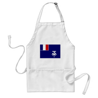 French Southern Antarctic Lands Flag Adult Apron