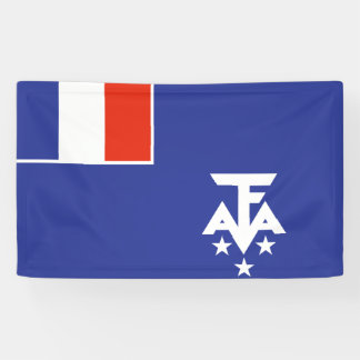 French Southern Antarctica Flag Banner