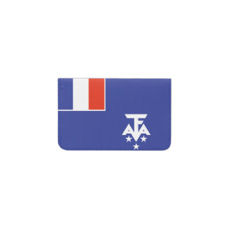 French Southern Antarctica Flag Business Card Holder