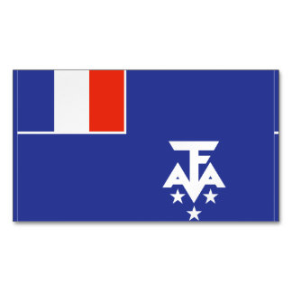 French Southern Antarctica Flag Magnetic Business Cards (Pack Of 25)