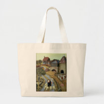 French Street Farm Large Tote Bag