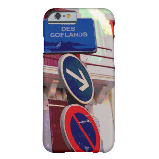 French Street Signs Barely There iPhone 6 Case