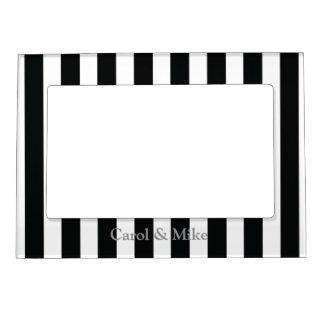 French Stripes in Black Magnetic Frame