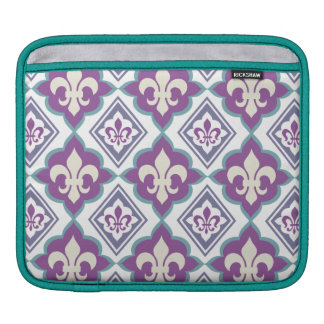 French Style Fleur de Lis Pattern iPad Sleeves