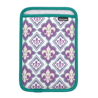 French Style Fleur de Lis Pattern Sleeve For iPad Mini
