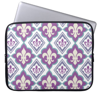 French Style Fleur de Lis Pattern Laptop Computer Sleeves
