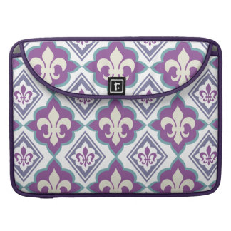 French Style Fleur de Lis Pattern Sleeve For MacBook Pro