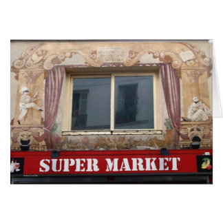 French Super Market Card
