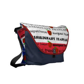 French Teacher Messenger Bag