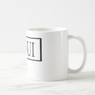 French teacher classic white coffee mug