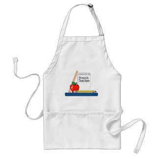 French Teacher (Notebook) Aprons