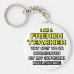 French Teacher...Superior Intelligence Key Chain