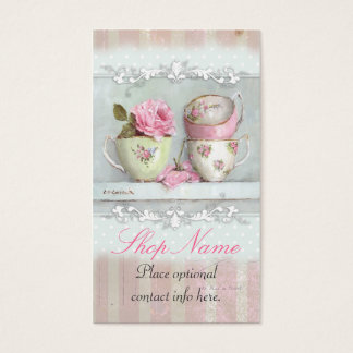 French Teacups Business Card