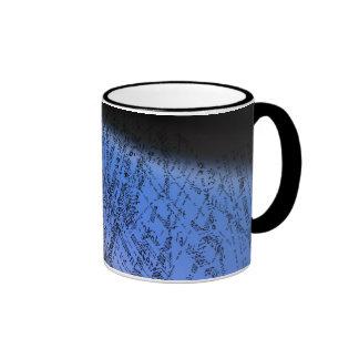 French text design mug