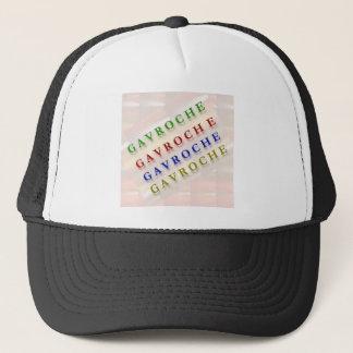 French Text: GAVROCHE        G A V R O C H E Trucker Hat