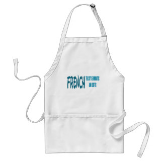 French the City Is Romantic and Exotic Adult Apron