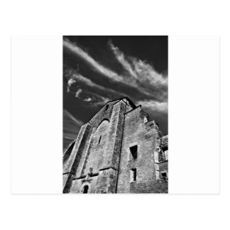 French the Middle Ages kisses the darkness skies Postcard