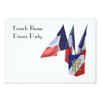 French Theme Dinner Party with Snail Card