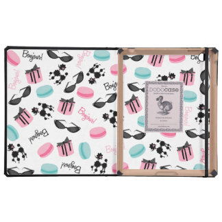 French Theme DODOcase For iPad 2/3 Cases For iPad