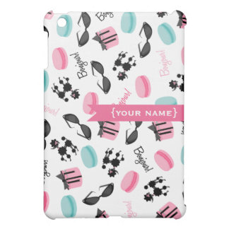 French Themed Personalized  Case For The iPad Mini