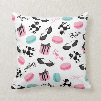 French Themed Pillow