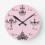 French Time Round Clocks