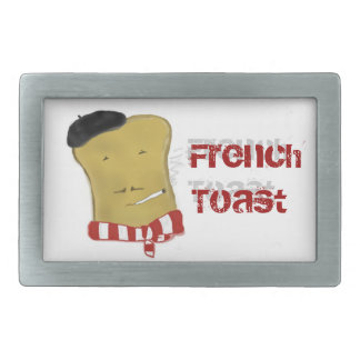 French Toast Belt Buckle