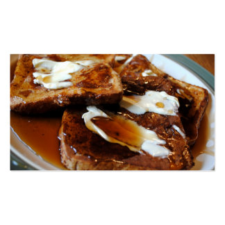 French Toast Business Cards