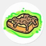 French Toast Classic Round Sticker
