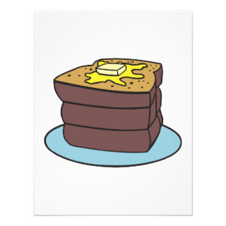 french toast custom announcements