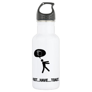 French toast lover water bottle