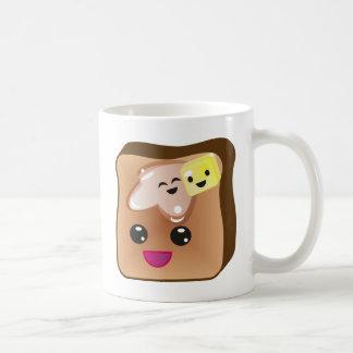 french toast classic white coffee mug