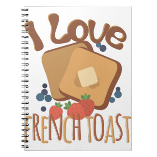 French Toast Notebook