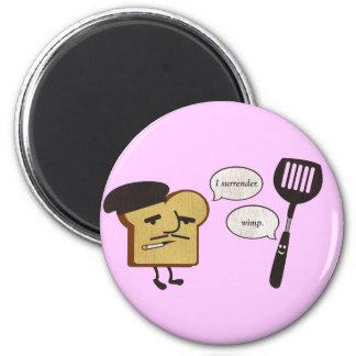 French Toast vs. Spatula Magnet
