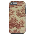 French Toile in Pink iPhone 6 Case