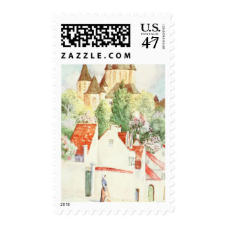 French Town Postage