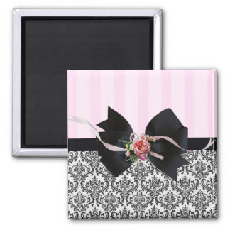 French Traditions 1 2 Inch Square Magnet