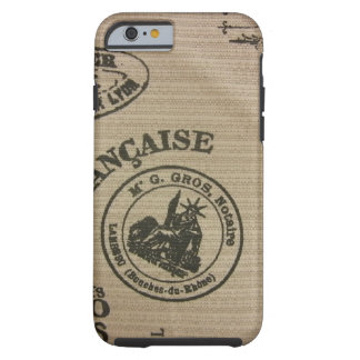 French Travel Stamps iPhone 6 Case