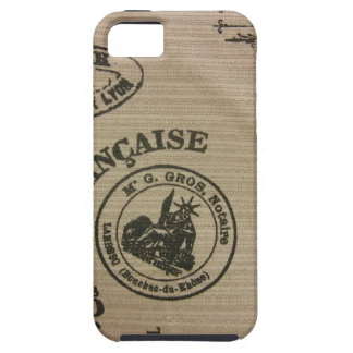 French Travel Stamps iPhone 5 Case