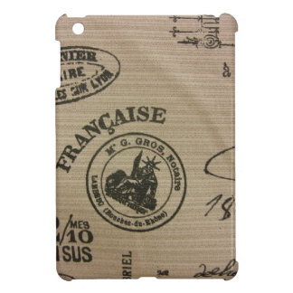 French Travel Stamps iPad Mini Cases