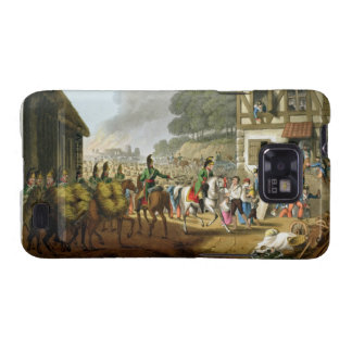 French Troops Retreating Through and Plundering a Samsung Galaxy S2 Covers