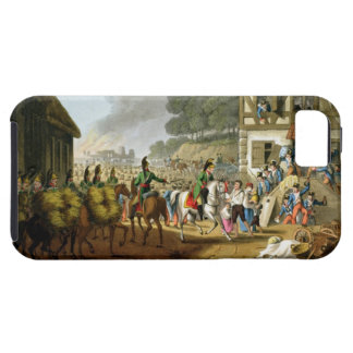 French Troops Retreating Through and Plundering a iPhone SE/5/5s Case