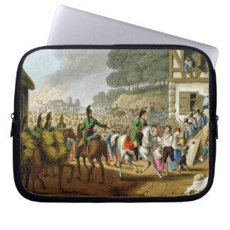 French Troops Retreating Through and Plundering a Laptop Sleeve