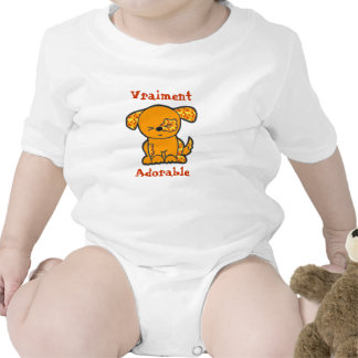 French - Truly Adorable - Puppy - Romper
